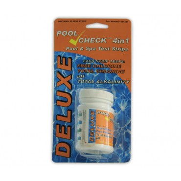 Aquachek test strips 4 in 1